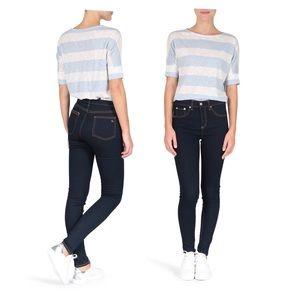 •rag & bone '10 inch skinny' denim jeans•